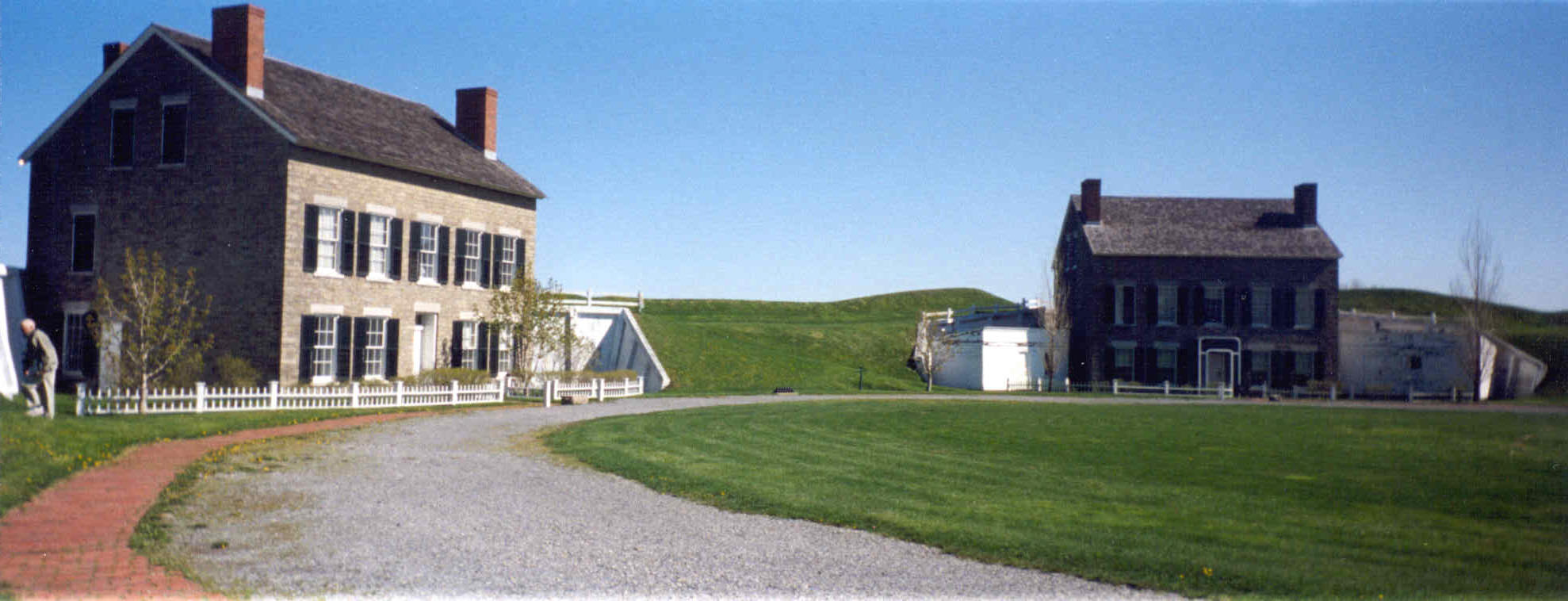 Fort Niagara near Youngtown, New York (Photo by Roy V. Ashley)